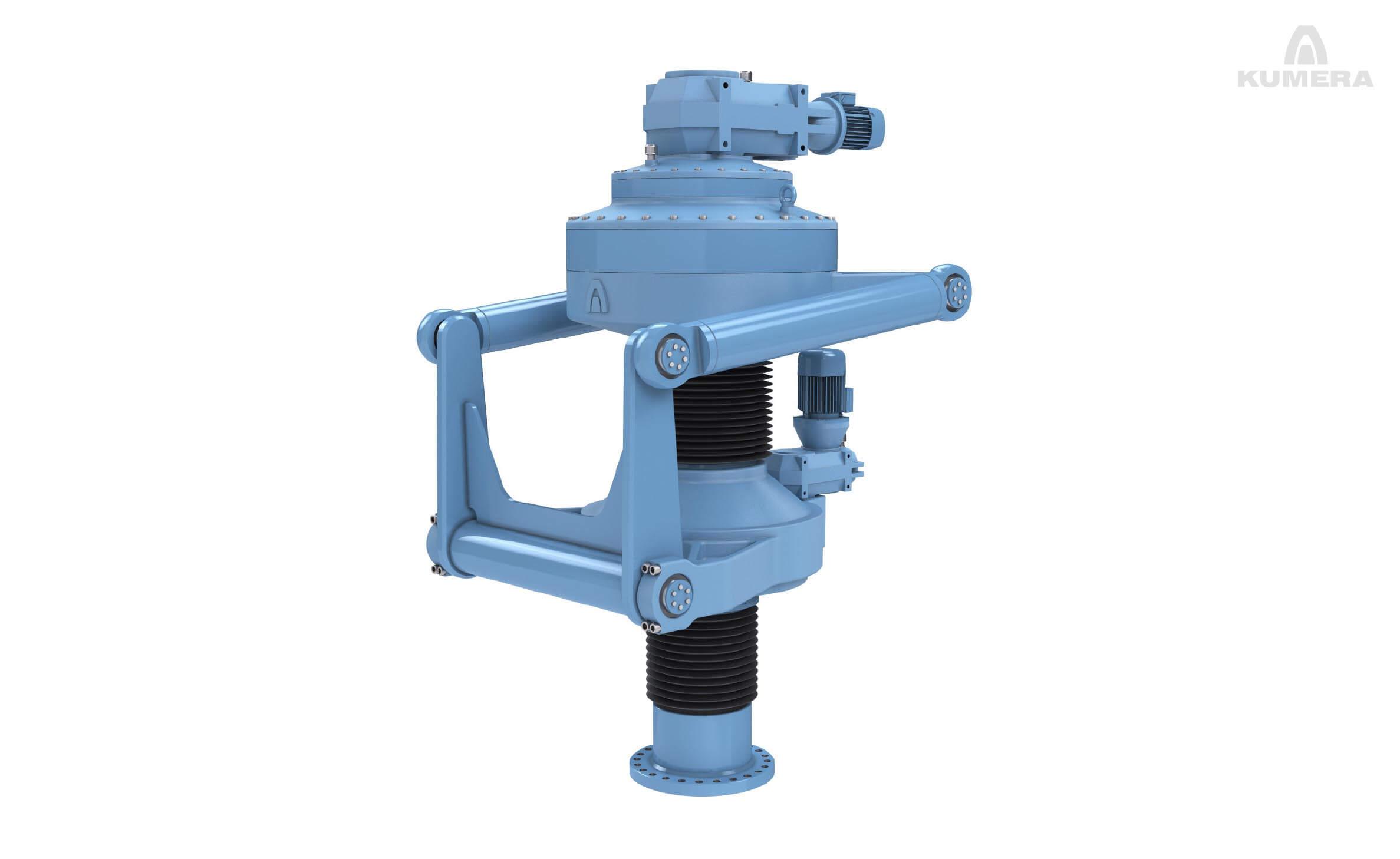 Kumera Drives for Water & Environment. Kumera Water & Environment processes: Surface aerators, Pump drives, Mixer drives, Sewage press drives, Waste kiln drive packages, Fermentation drum drive packages.