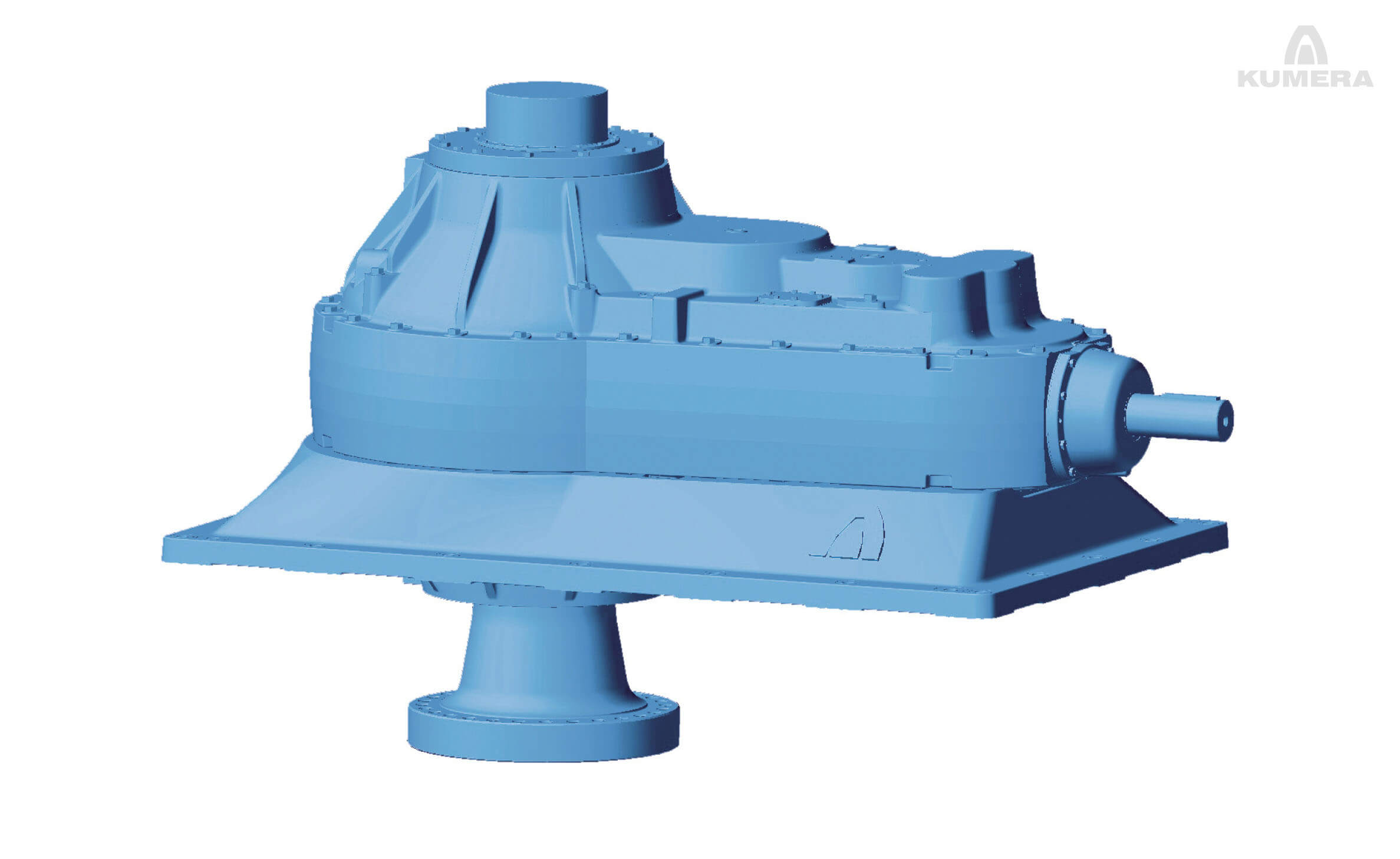 Kumera Agitator Gearboxes. Kumera SF-, SG-, E-Series - High External Loads Gearbox Range