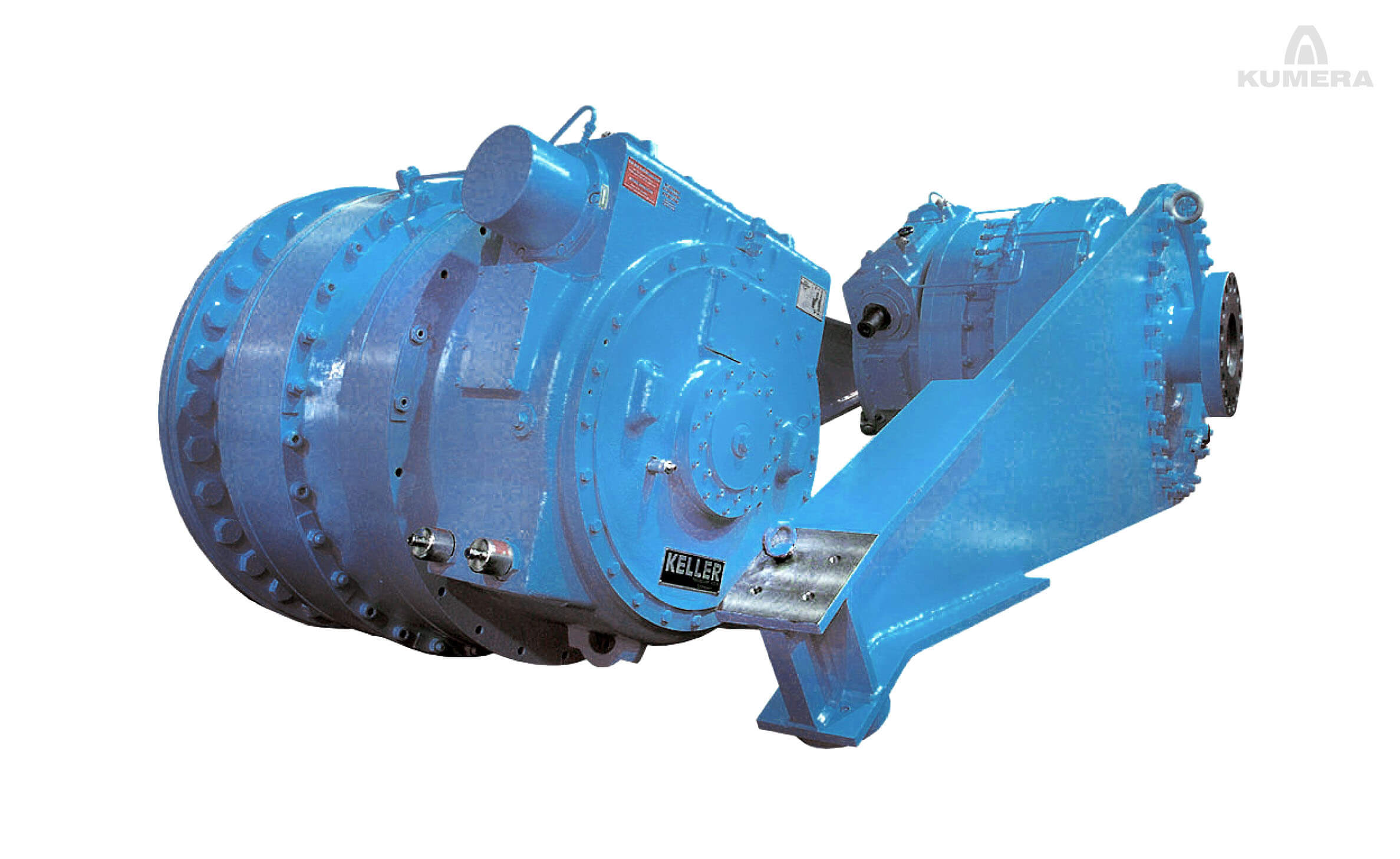 Kumera Custom Built Heavy-Duty Gearboxes for Opencast Mining. Kumera Conveyor Gearboxes and Landing Gearboxes.