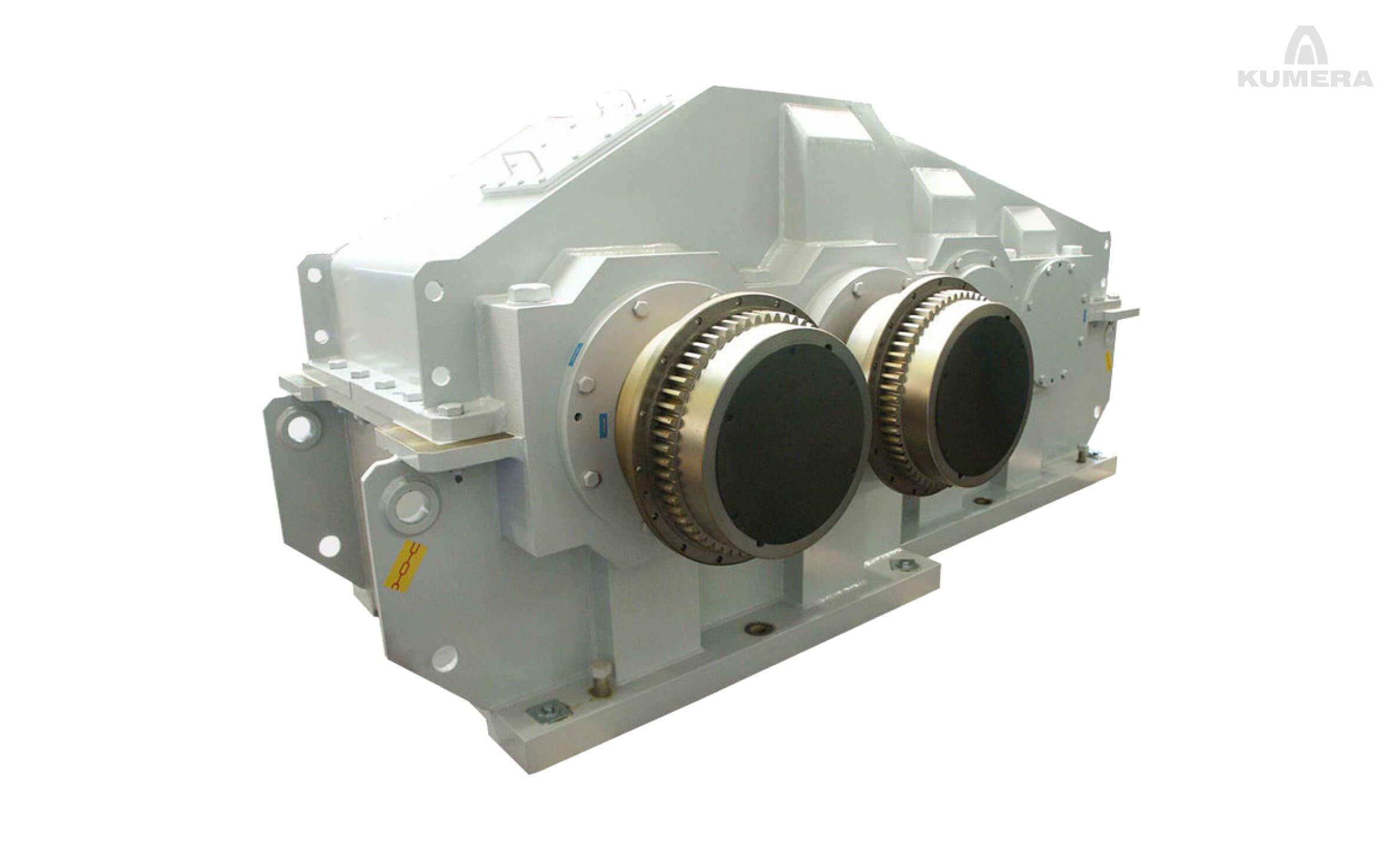Kumera Custom Built Heavy-Duty Gearboxes for Rubber & Plastic Industries. Kumera Mixer Drives