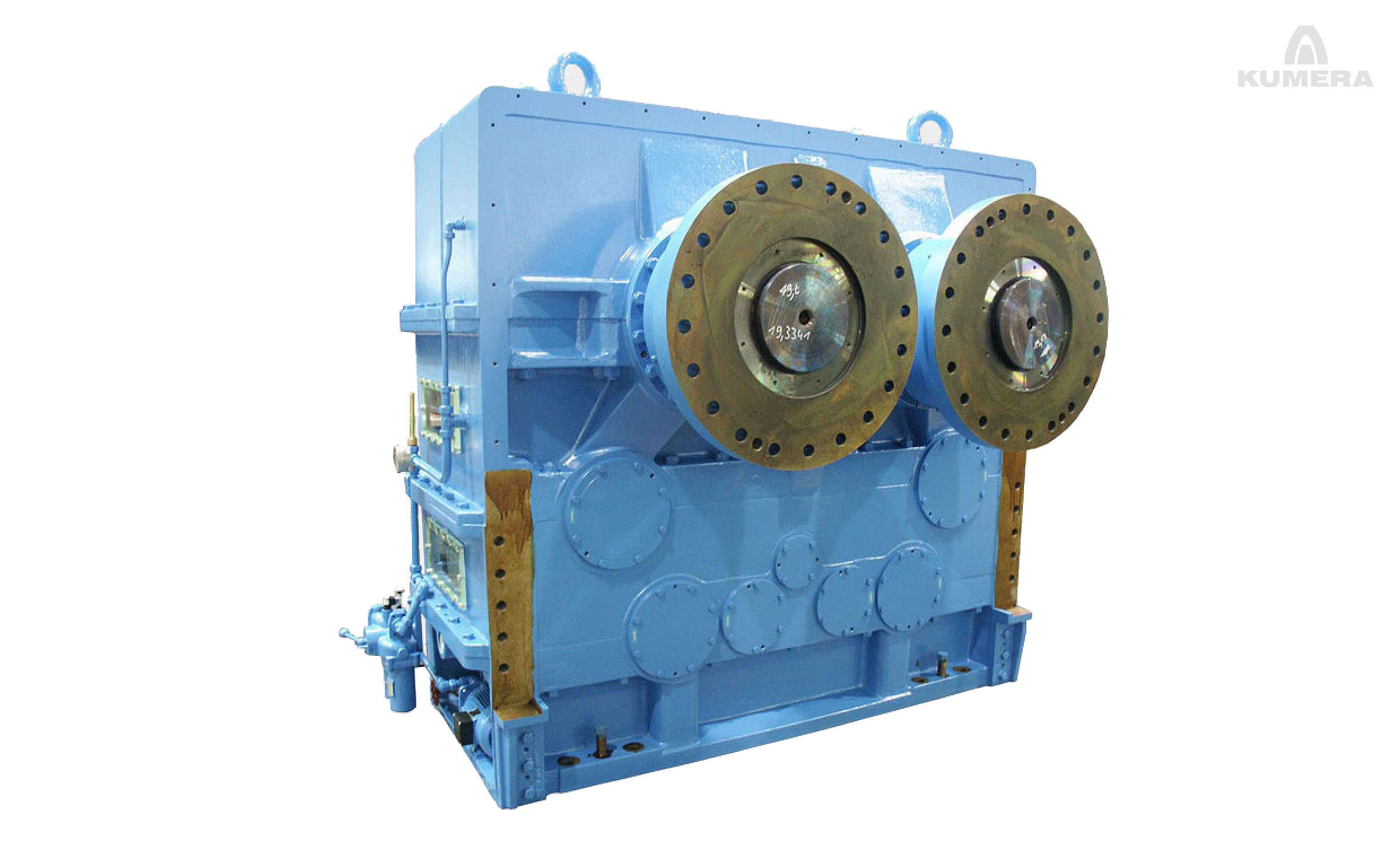 Kumera Custom Built Heavy-Duty Gearboxes for food processing industry. Kumera Pulp press gearbox