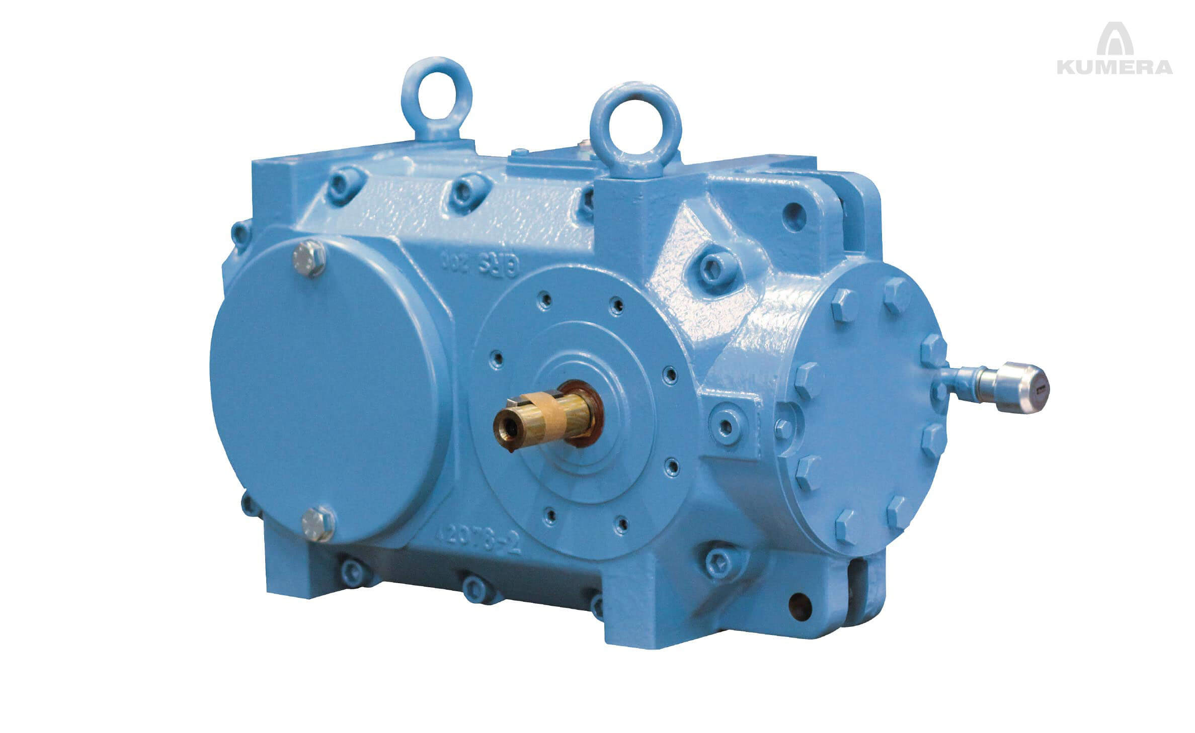 Kumera Multi Stage Helical and Bevel-Helical Gearboxes