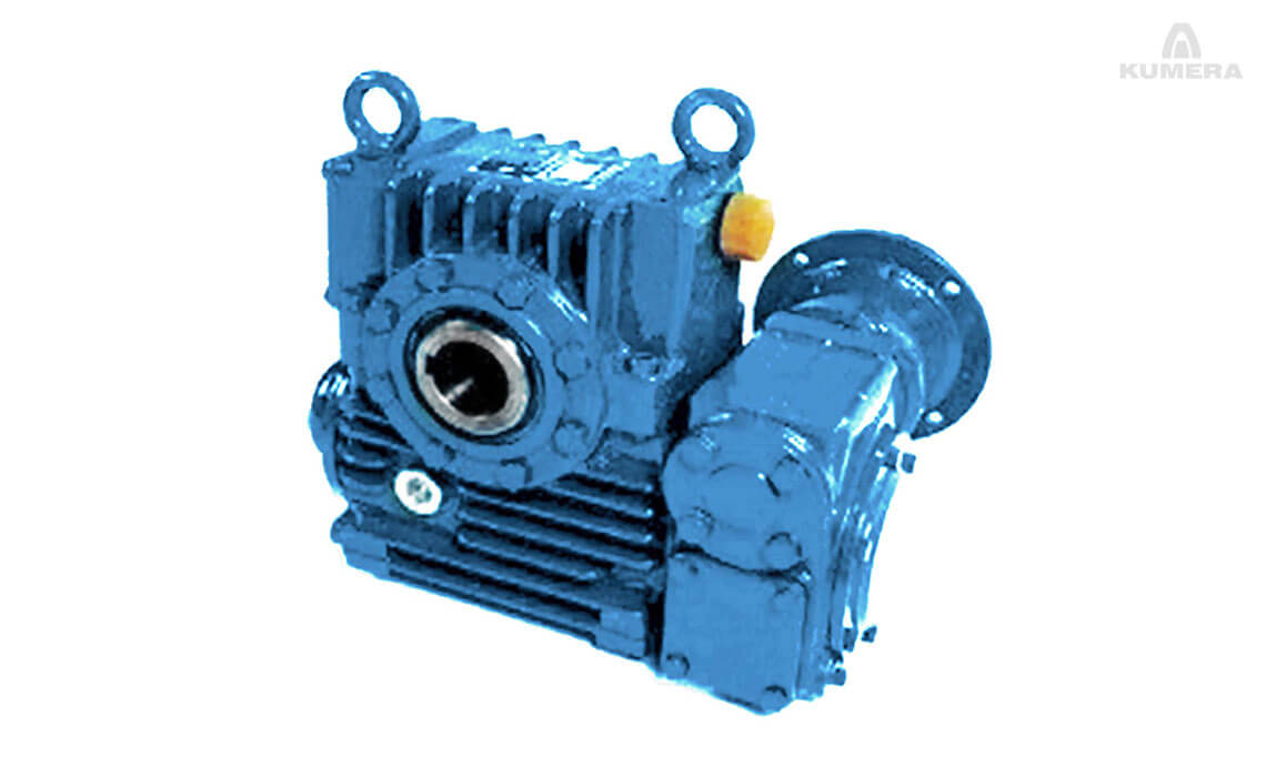 Kumera Worm Gearboxes. The Covera series is designed especially for non-continuous operation.