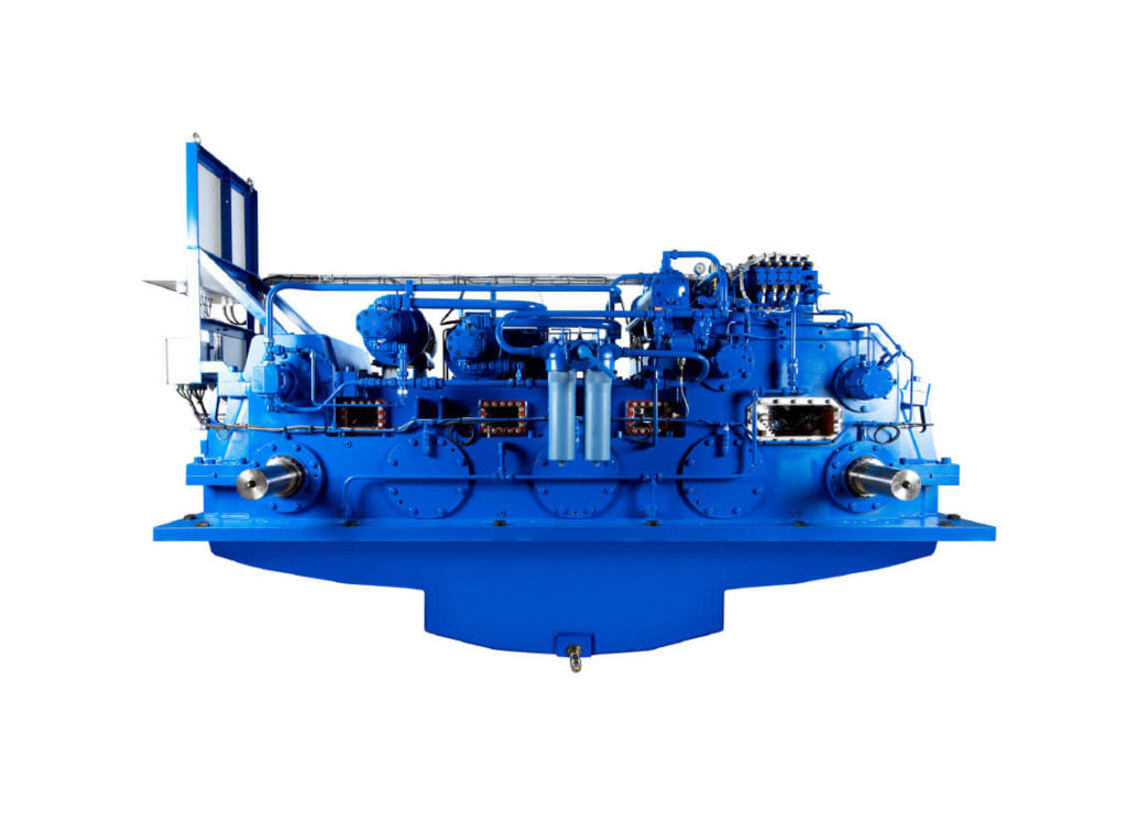 Hybrid gearboxes