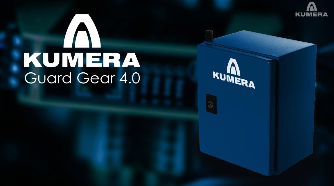 Kumera Guard Gear - Healt Monitoring. Guard Gear is designed for diagnosing industrial gearboxes. The function of Kumera Guard Gear is based on measuring parameters that indicate incipient failure of mechanical components and lubrication oil.